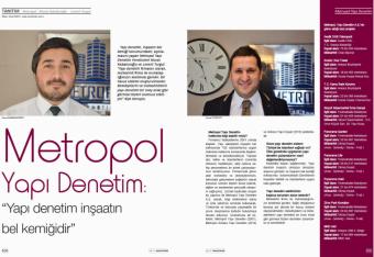 İnşaat & Yatırım Dergi Röportajı