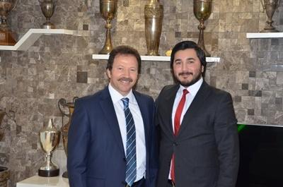 Ankara Esnaf ve Sanatkarlar Odaları Birliği (ANKESOB) Başkanı Sn : Mehmet Yiğiner Bey ile Bir Araya Geldik