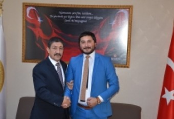Visit to Misiad Vice Chairman Mr. Feridun Öncel in his office