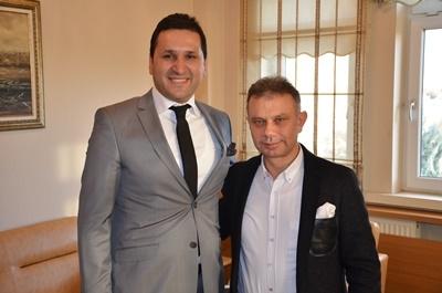 Kazan Belediye Başkanı Lokman Ertürk Bey'e İlgisinden Dolayı Teşekkür Ederiz