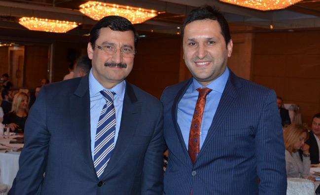 Keçiören Belediye Başkanı Mustafa Ak ile Buhara Medya Ödül Gecesinde Buluştuk