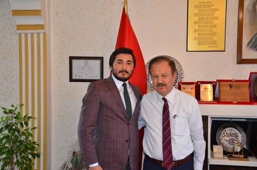 Özdemir Turgut Başkanımızı Ziyaret Ettik