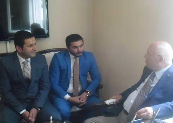 Fethi Yaşar Metropol Yapı Denetim A.Ş.'yi Ziyaret Etti