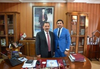 Full support from Etimesgut Mayor Mr. Enver Demirel for our company Metropol Yapı Denetim A.Ş.