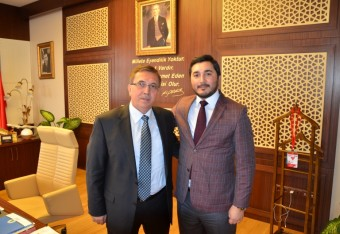 Thanks for his interest to Pursaklar Mayor Mr. Selçuk Çetin