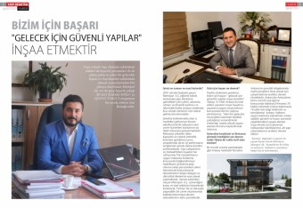Interview with Yapı Denetim Magazine